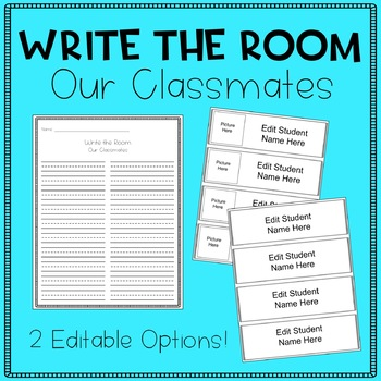 Write the Room - Our Classmates