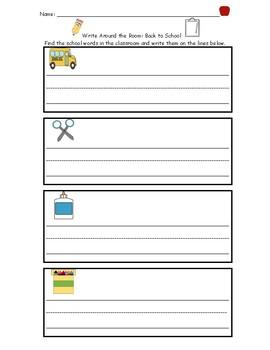 Write the Room Package (September- June)