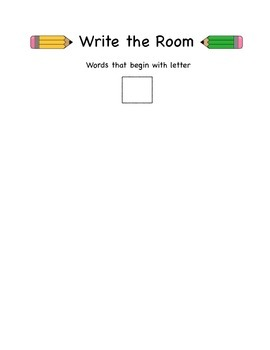Write the Room Packet