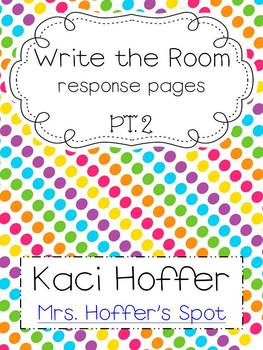 Write the Room  Papers {pt. 2}