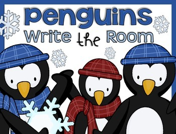 Write the Room {Penguins}