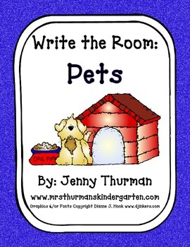 Write the Room: Pets