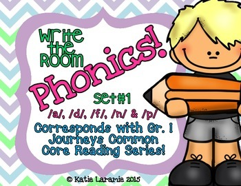 Write the Room Phonics! Set #1