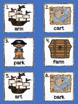 Write the Room Pirates ar Words