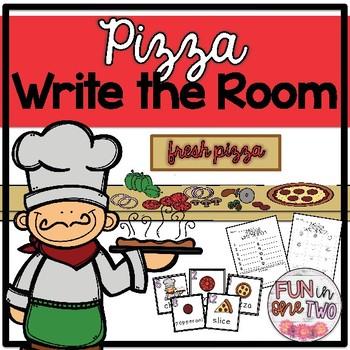 Write the Room ♥ Pizza ♥ Cross Curricular ♥ Center