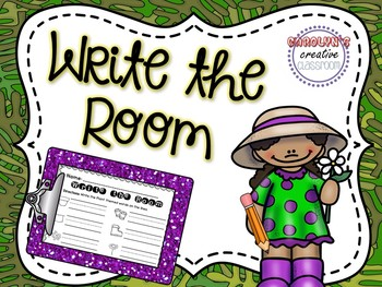 Write the Room Plants - Plants / Gardening Theme (April)