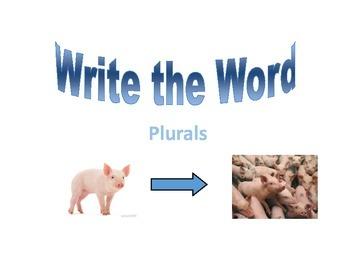 Write the Room: Plurals