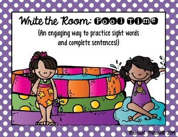 Write the Room: Pool Time