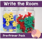 Write the Room: Pre-Primer Word Pack