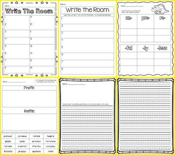 Write the Room - Prefix & Suffix
