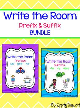 Write the Room - Prefix & Suffix BUNDLE