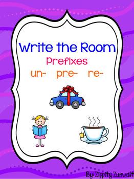 Write the Room - Prefixes