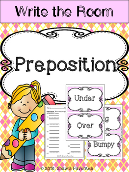 Write the Room {Prepositions}