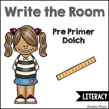 Write the Room - Preprimer Dolch Words