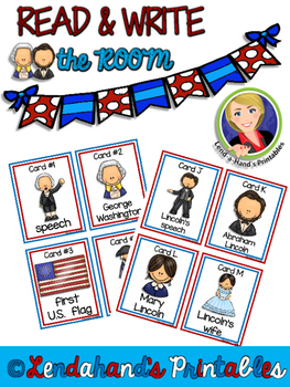 Write the Room (President's Day Theme) by Ms. Lendahand