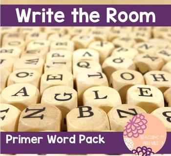 Write the Room: Primer Word Pack