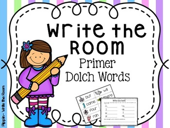 Write the Room:  Primer Dolch Sight Words