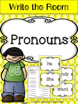 Write the Room {Pronouns}