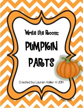 Write the Room: Pumpkin Parts