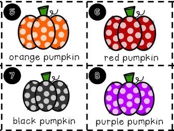 Write the Room- Pumpkin Shapes
