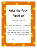 Write the Room - Pumpkins
