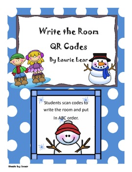 Write the Room QR Style - Snowman