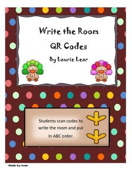 Write the Room QR style - Turkey