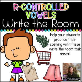 Write the Room (R-Controlled Vowels)