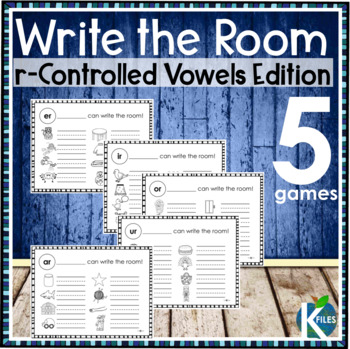 Write the Room: R-Controlled Vowels