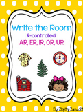 Write the Room - R-controlled vowels AR, ER, IR, OR, UR