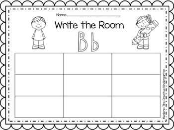 Write the Room {Read-Write-Count-Draw}