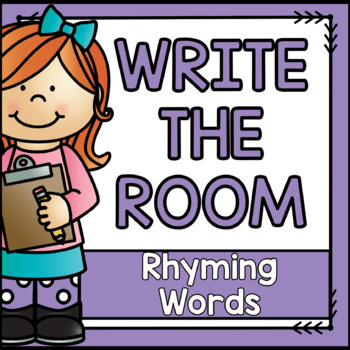 Write the Room {Rhyming Edition}
