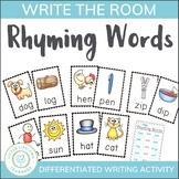 #AUSTEACHERBFR Rhyming Word Activity - Write the Room