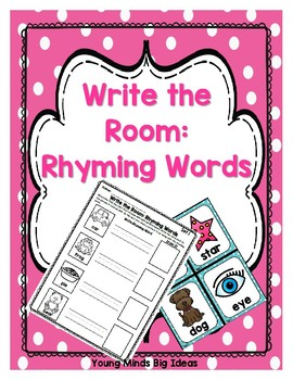 Write the Room: Rhyming Words