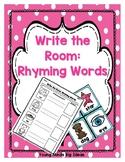 Write the Room: Rhyming Words