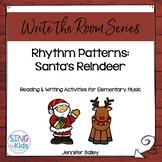 Write the Room Music: Rhythm Reindeer {4/4 Edition}