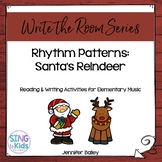 Write the Room Music: Rhythm Reindeer {4/4 Edition}
