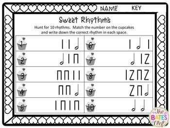 Write the Room Rhythms - Half Note