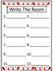 Write the Room & Roll A Word Winter Edition