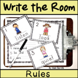 Write the Room Rules