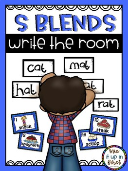 Write the Room- S BLENDS
