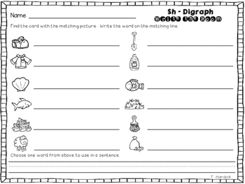 Write the Room - SH Digraph