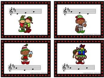 Write the Room: Santa's Choir