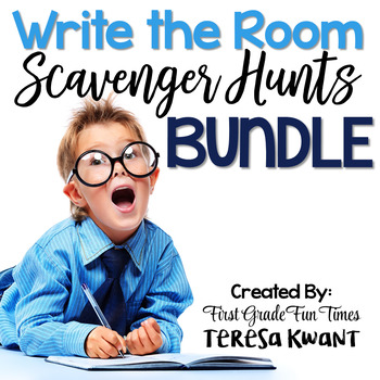 Write the Room Scavenger Hunts HUGE Bundle 80+ Beginning of the Year Activities