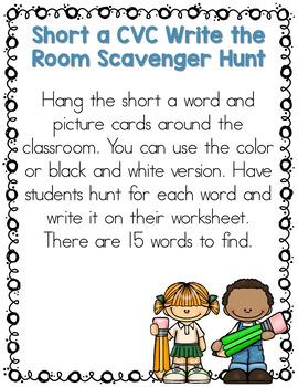 Write the Room Scavenger Hunts HUGE Bundle 80+ Beginning of the Year Activities