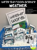 Write the Room Science Vocabulary Pack: Weather
