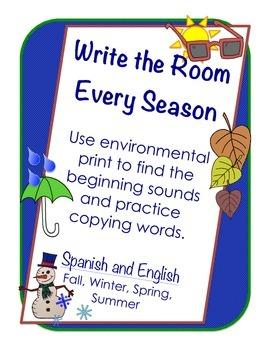 Write the Room: Seasons