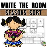 Seasons Sort Write the Room
