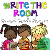Write the Room - Second Grade Phonics (30 Hunts for the Year!)