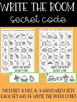 Write the Room - Secret Code